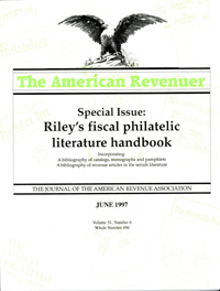 Riley's Fiscal Philatelic Literature Handbook, By R.F. Riley
